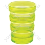 Sure Grip Mug with Cap (Small Hole) - Colour Yellow