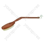 Long-Handled Wooden Bath Brush