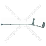 PVC Wedge handle Elbow Crutch - Size Adult (Large)