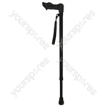 Ergonomic Handled Walking Stick - Configuration Right Handed