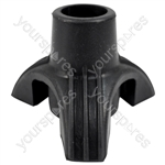 Tri-Support Rubber Walking Stick Ferrule