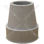 Replacement Grey Rubber Ferrule for the Aidapt Quad Canes