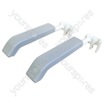Pair of Armrests for Aidapt Bewl Shower Chair