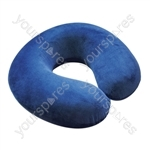 Spare Cover for Blue Memory Foam Neck Cushion - Colour Blue