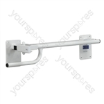 Alvin Toilet/Bed Rail - Configuration Left Handed