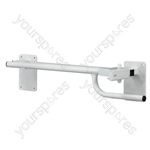 Alvin Toilet/Bed Rail - Configuration Right Handed