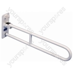 Solo Contract Hinged Arm Support - Colour White