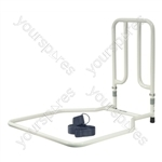 Solo Fixed Height Bed Transfer Aid - Configuration With Strap