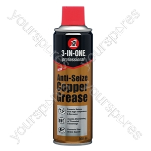 3 in One 300ml Anti-Seize Copper Grease