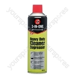 3 in One 500ml Heavy Duty Cleaner Degreaser