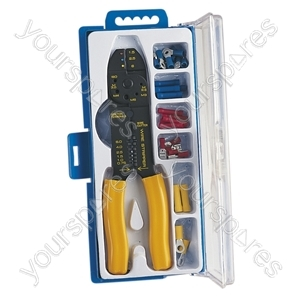 Crimping Set with 32 Assorted Crimp Terminals