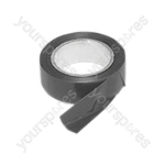 Black 19 mm x 10 m PVC Tape