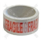 48 mm x 66 m Fragile Packing Tape