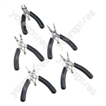 5 Piece Precision Side Cutter Tool Set