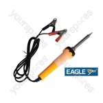 Eagle 12V 30W Soldering Iron Fitted With Crocodile Clips