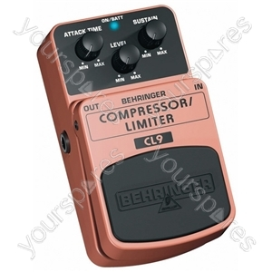 Behringer CL9 Compressor Limiter Guitar Effects Pedal