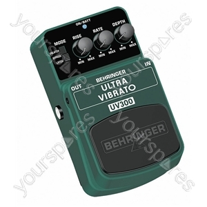 Behringer UV300 Ultra Vibrato Guitar Effects Pedal