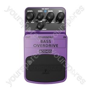 Behringer BOD400 Bass Overdrive Guitar Stomp Box