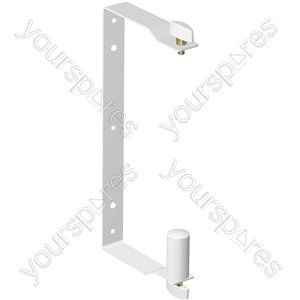 EUROLIVE WB208 White Wall Mount Bracket for B208 Series Speakers
