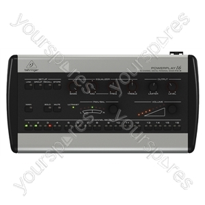 Behringer P16-M Powerplay 16 Channel Digital Personal Mixer