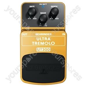Behringer UT300 Ultra Tremolo Effects Pedal
