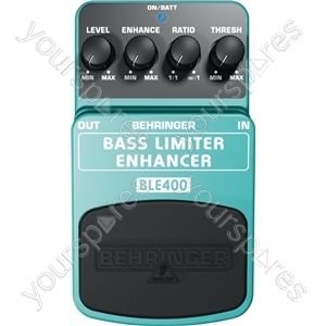 Behringer BLE400 Bass Limiter Effects Pedal