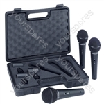 Behringer XM1800S Dynamic Handheld Microphone (3 Pack)