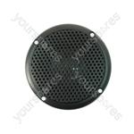 """3"""" Black 100V Line Waterproof Ceiling speaker 6W"""