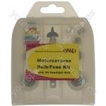 Motorhome / Caravan Bulb & Fuse Kit - H4 Bulb