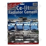 Radiator Cement Sachets - Display Card Of 24