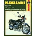 Motorcycle Manual - Kawasaki 650 Four (1976-1978)