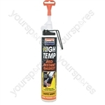 High Temperature Instant Gasket - Red - 200ml