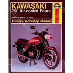 Motorcycle Manual - Kawasaki 750 Air-Cooled Fours (1980-1991)