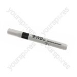 Dry Wipe Marker Pens - Black - Pack of 10