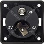 12V Auxiliary Socket/Satellite Point - Anthracite