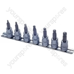 Ball End Hex Bit Set - 3/8in. Drive - 7 Piece