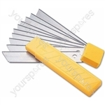 Blades - Snap Off 17mm - Pack Of 10