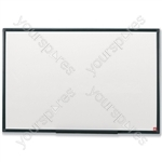 Dry Wipe Board with Fixing Kit & Pen Tray