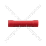 Wiring Connectors - Red - Butt Connector - Pack Of 100