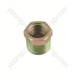 Airline Connector - Reducing Screw-Fit - 3/8in. To 1/4in. BSP - Pack Of 3