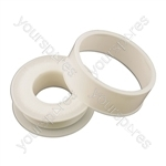 PTFE Thread Seal Tape - 12mm x 12m - Pack Of 10
