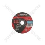 Abracs Flat Cutting Discs - 125mm x 3mm - Pack of 10