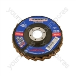 Surface Conditioning Discs 115mm x 22mm Assorted Grits - CDU of 45