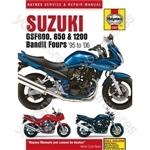 Motorcycle Manual - Suzuki GSF600, 650 & 1200 Bandit Fours (1995-2006)