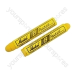 Tyre Marker Pens - Yellow - Pack of 12