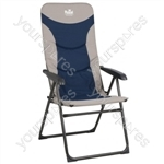 Colonel Chair  - Blue/Silver
