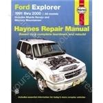 Ford Explorer (1991-2000), Explorer Sport (To 2003) & Explorer Sport Trac (To 2005) - Car Manual