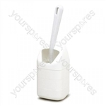 Mini Toilet Brush & Holder