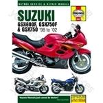 Motorcycle Manual - Suzuki GSX600/750F & GSX750 (1998-2002)