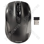 3 Button/Scrolling Optical Mouse - Wireless